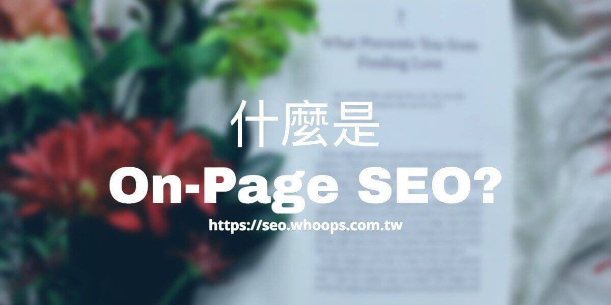 什麼是On-Page SEO?