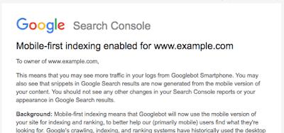 Google 正式宣布推出移動優先索引 1