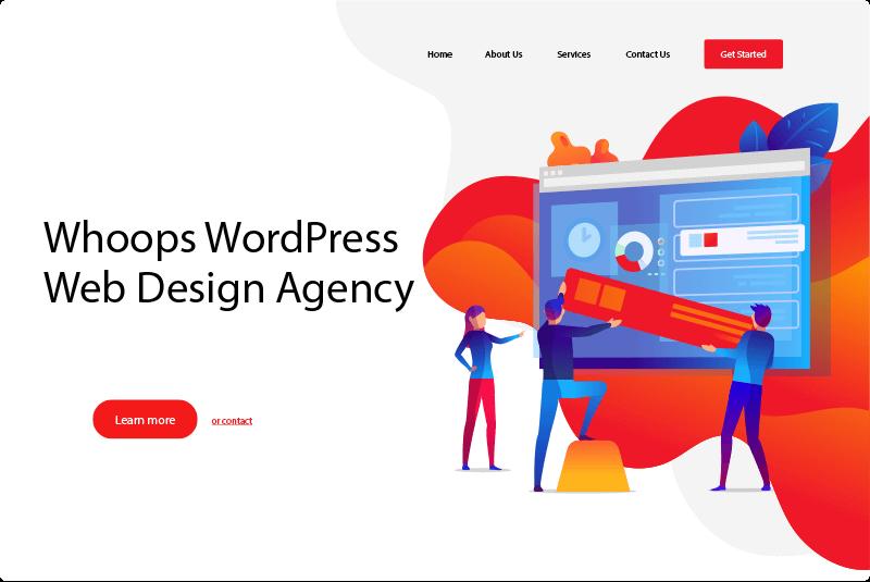 WordPress 網頁設計服務