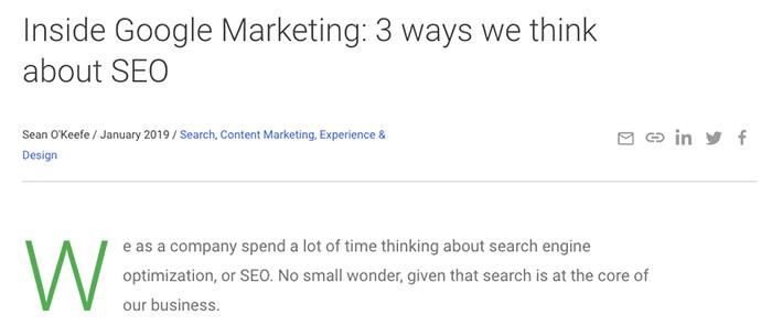 Google 內部 SEO 優化策略:做出小改變、接受新技術、合併重複內容